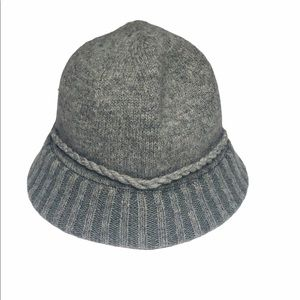 August HAT Company Gray Wool Blend Hat